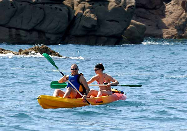 location kayak perros guirec